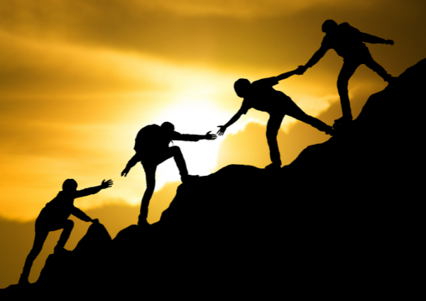 Maximum effort should be placed on building trust
